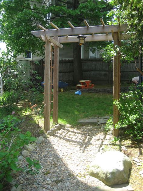 diy trellis plans build a wooden garden arbor