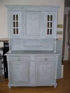 meuble ancien peint en gris images