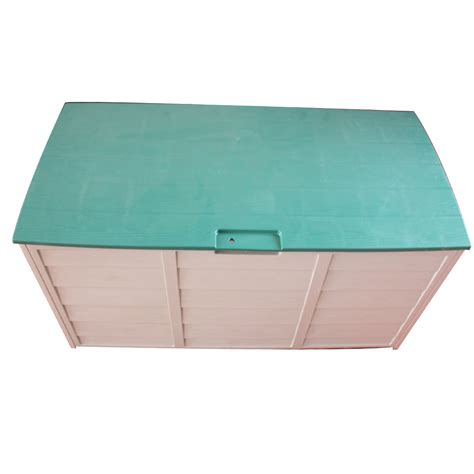 garden storage containers plastic new garden outdoor plastic storage chest shed box