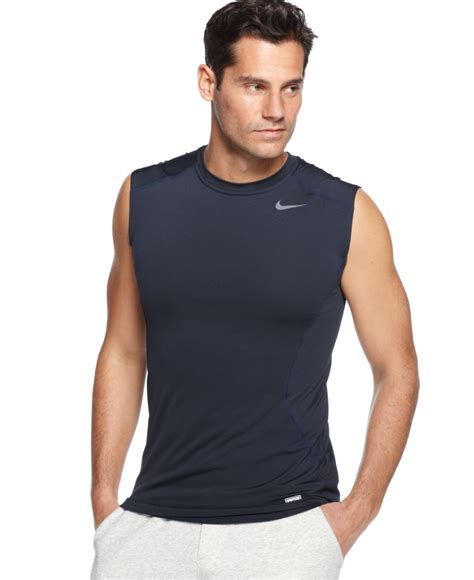 Jual Simple Flatshoes Polos lyst nike pro combat dri fit fitted sleeveless in black for