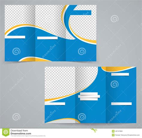 3 fold phlet template three fold business brochure template corporate flyer or