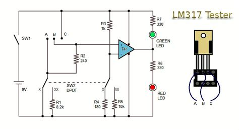 transistor variable lm317 2n3055 power supply schematic lm317 free engine image for user manual