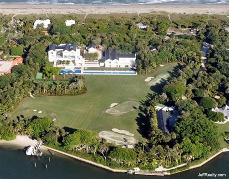 tiger woods house tiger woods home jupiter island florida in photos