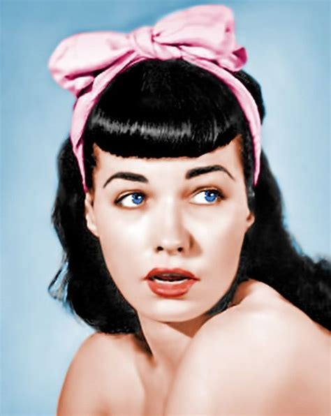 bettie page this photo always has such a vulnerability