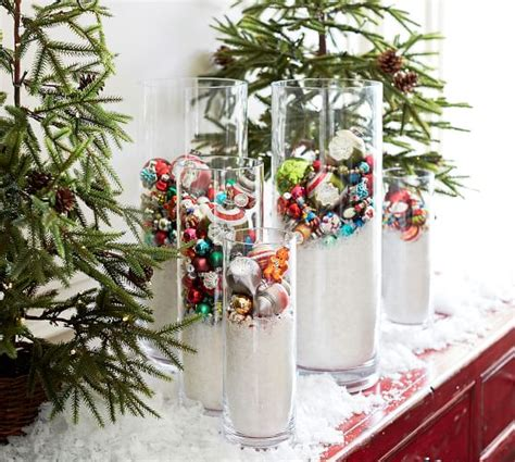 Faux Cranberry Vase Filler by Faux Snow Vase Filler Pottery Barn