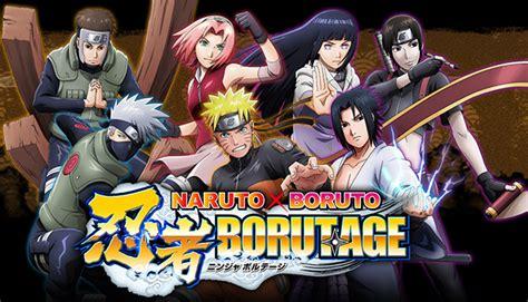 boruto channel le jeu sur mobile naruto x boruto borutage annonc 233
