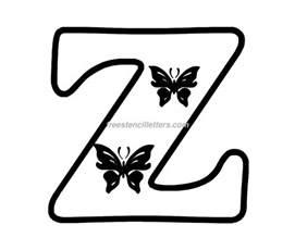 print z letter stencil free stencil letters
