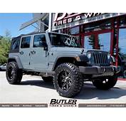 Jeep Wrangler With 20in Fuel Maverick Wheels Exclusively