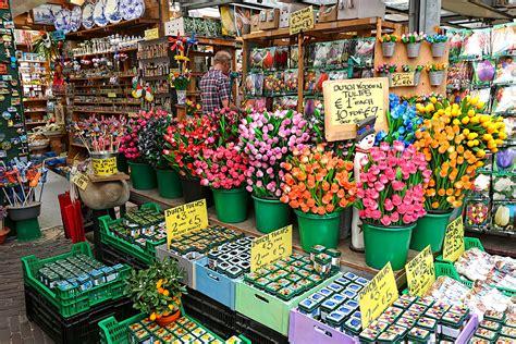 PHOTO: Bloemenmarkt Flower Market in Amsterdam
