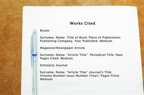 Citing Sources In Essays by How To Cite An Author In Mla Format 5 Steps With Pictures