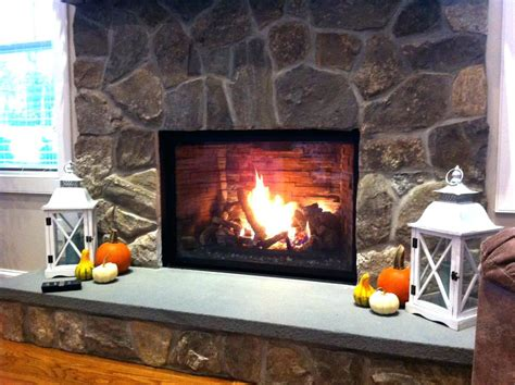 how to clean ceramic fireplace logs corner electric