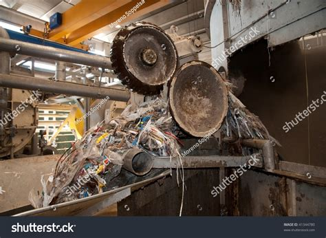 paper and pulp mill stock paper and pulp mill pulper area stock photo 41344780