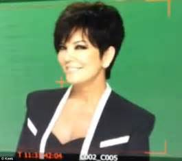 kris jenner haircuts front and back kris jenner kardashian haircut short hairstyle 2013