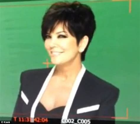 kris jenner haircut side view kris jenner haircut back view