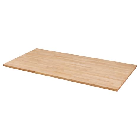 gerton table top beech 155x75 cm ikea