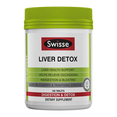 Swisse Liver Detox 200 Tablets by Swisse S Ultivite Tablets S Daily