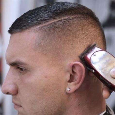 marine corps slang for long hair 50 buzz cuts for men menhairstylist com