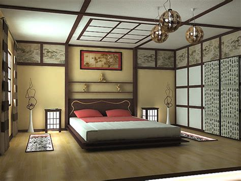 oriental bedroom decor japanese style bedroom