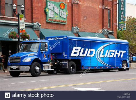 Bud Light Stock by Bud Light Budweiser Delivery Truck Broadway Nashville