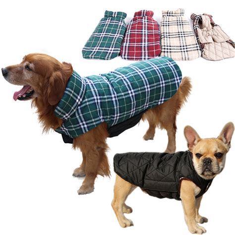 jackets for dogs waterproof reversible warm coat for dogs