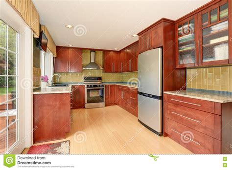 kitchen room interior dgmagnets com kitchen room interior with modern brown cabinets and light