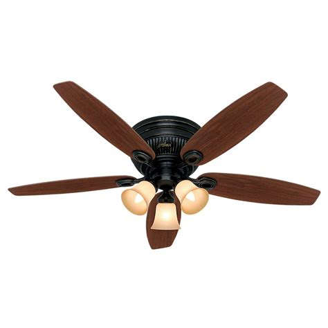 home depot black ceiling fans nutone wet rated series 52 in outdoor barbecue black