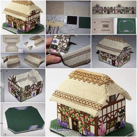 do it yourself crafts step by step find craft ideas how to make decorative fabric house step by step diy