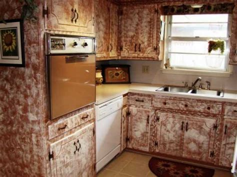 ugly kitchen cabinets just say no to sponge painting cabinets ugly house photos