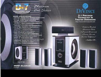 divinci dv  audio problem  optical input ecousticscom