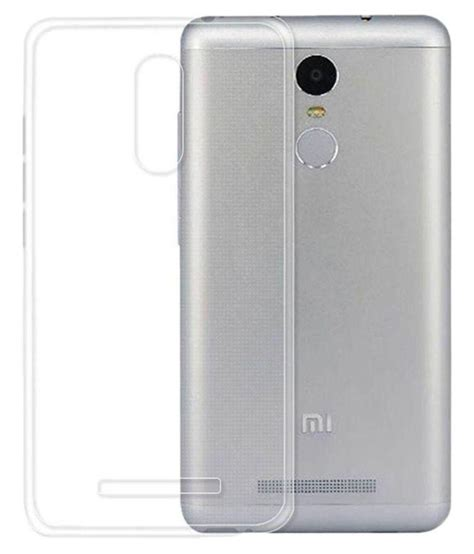Sold Xiaomi Redmi 3s Second xiaomi redmi 3s prime cover by sni transparent plain back covers at low prices