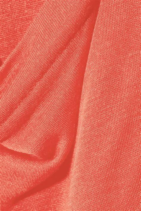 borong kain satin velentro kain classic modal and silk blend jersey tank in pink