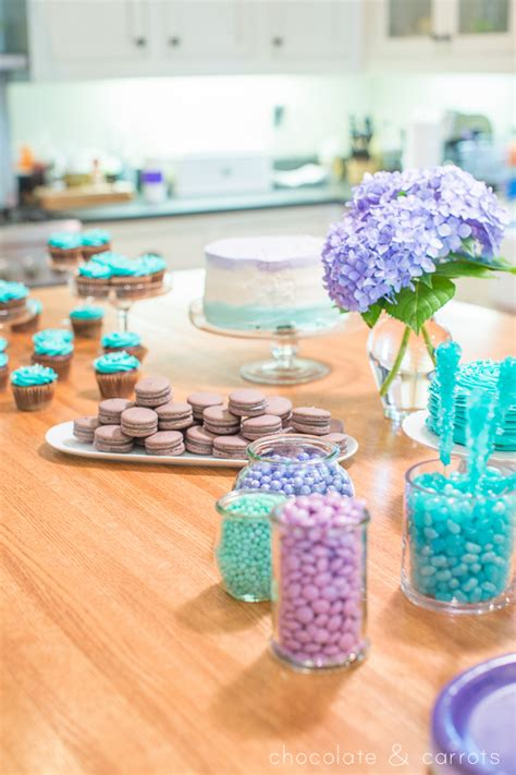 Teal And Purple Baby Shower by Teal Purple Baby Shower Chocolate Carrots
