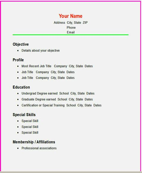 cv template free for 16 year olds basic cv template for 16 year old resume template