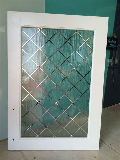 cabinet glass  metal wire grid grille door pantry