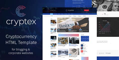 Cryptocurrency Html Template Free Cryptex Cryptocurrency Html Template Nulled Download