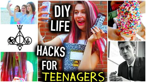 diy hacks youtube diy life hacks for teenagers things to do food you
