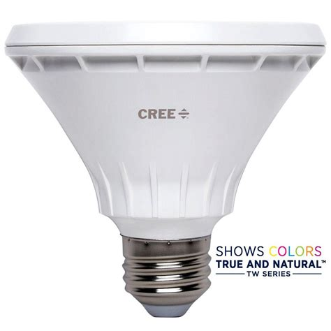 75 w led light bulbs cree 65w equivalent soft white 2700k br30 dimmable led