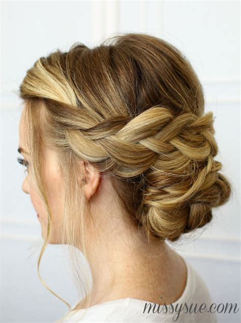 soft draid hairstyles soft braided updo