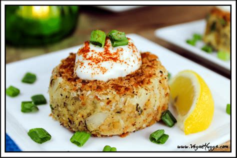 Lunch Main Dish - vegan crab cakes vegan appetizer crabless cakes hearts of palm