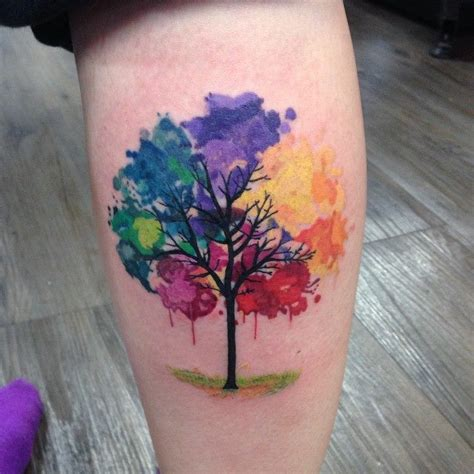 watercolour tattoos and why you should love them 2017