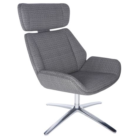 Modern Swivel Lounge Chair by Modern Chairs Swivel Gray Lounge Chair Eurway
