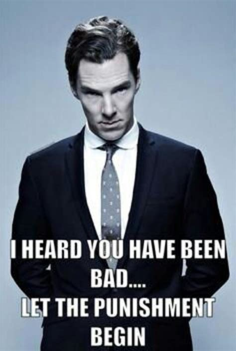 Cumberbatch Meme - punishment benedict cumberbatch know your meme