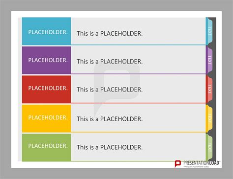 powerpoint design tab this set of pre designed index tab templates for