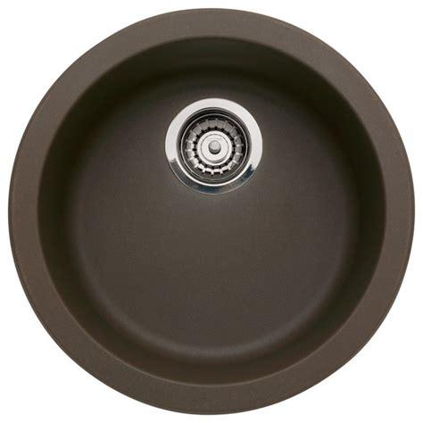 blanco granite bar sinks blanco 517143 rondo granite bar kitchen sink