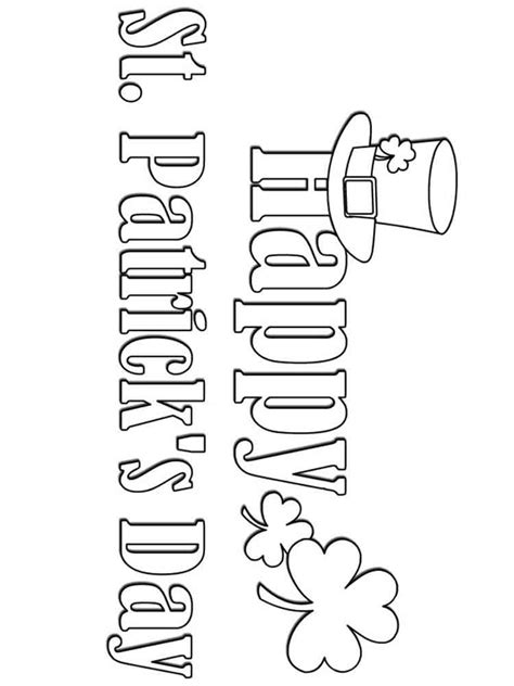 free printable st day coloring pages st s day coloring pages free printable st