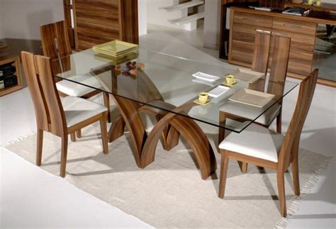 Rectangular Glass Top Dining Room Tables by Hottest Styles Modern Dining Room Table And Chairs Twipik