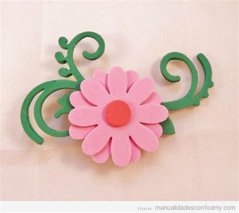 flores goma eva manualidades con foamy manualidades de flores manualidades con foamy todo sobre las
