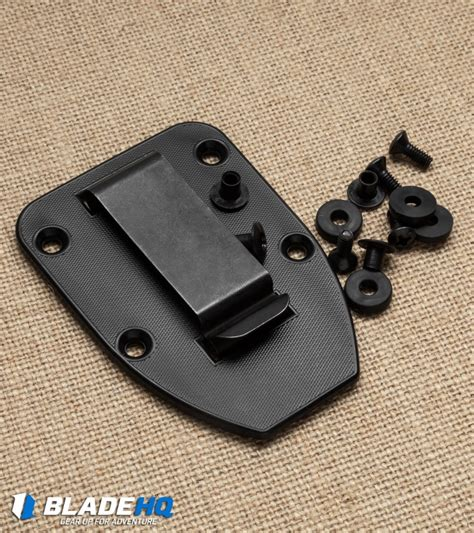 rc 4 knife esee knives 3 4 clip plate for esee 4 black blade hq