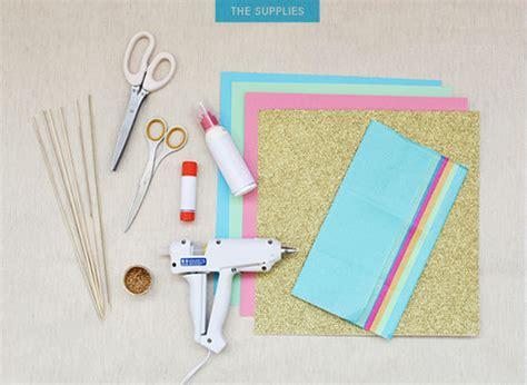 How To Make Paper Cupcake Toppers - d e s i g n l o v e f e s t 187 make it 38