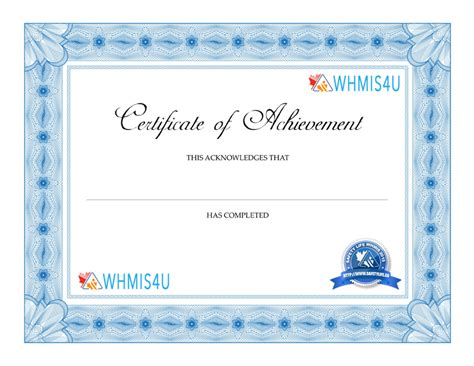 whmis certificate template imts2010 info